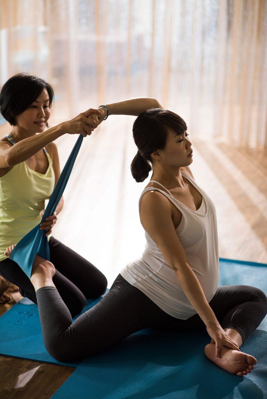 Yogilini有專人替你規劃懷孕後期運動