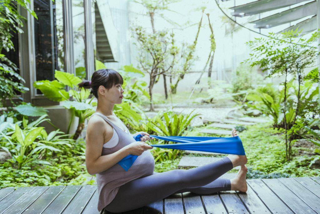 優先選擇舒服、緩和的懷孕後期運動