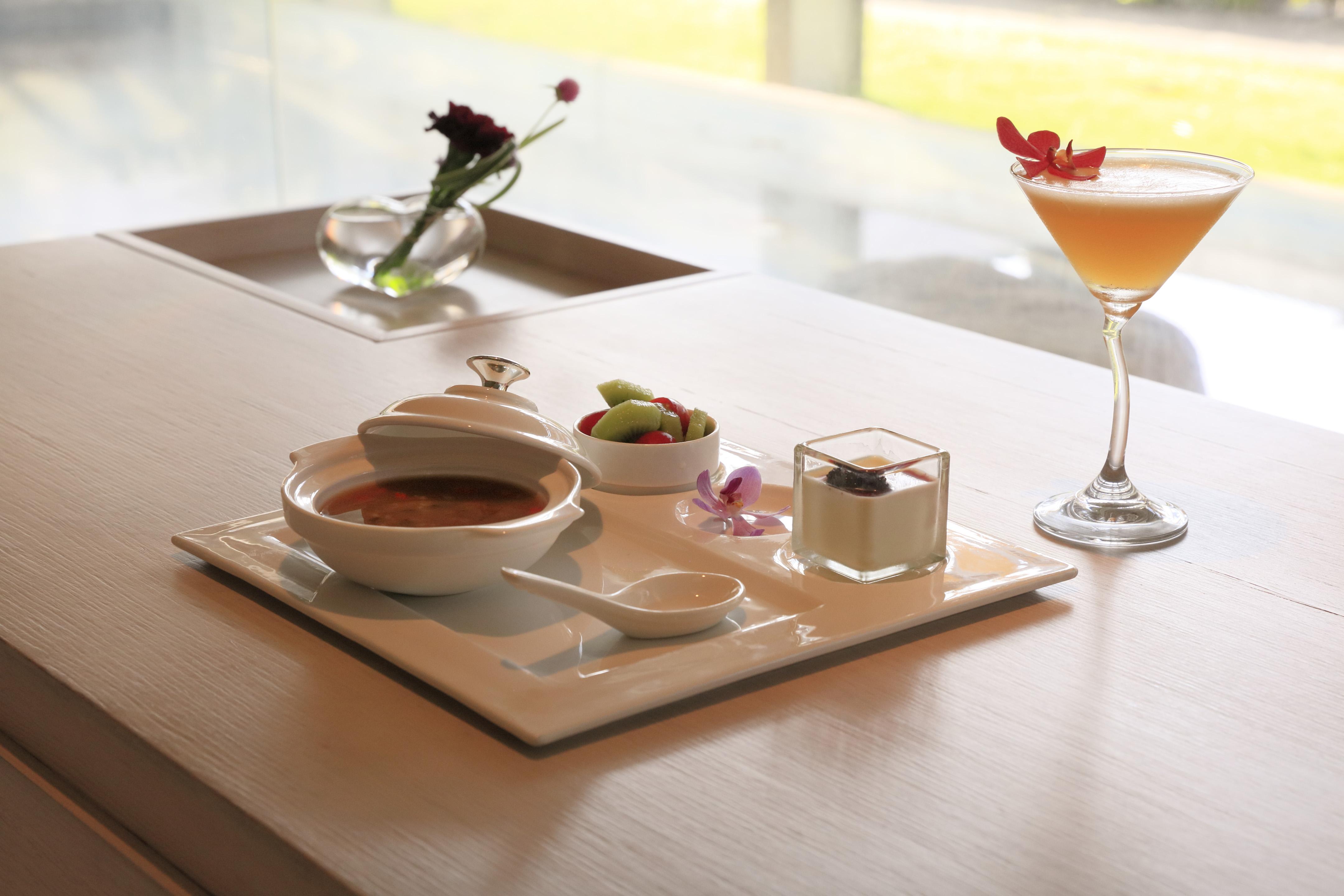台中SPA會館Yogilini餐點